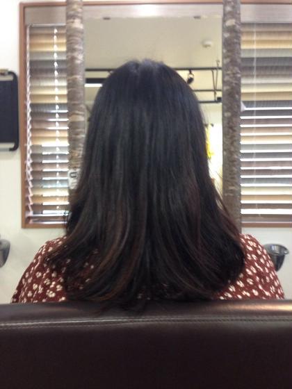 hair  mellow所属・イケガヤノリタカのスタイル
