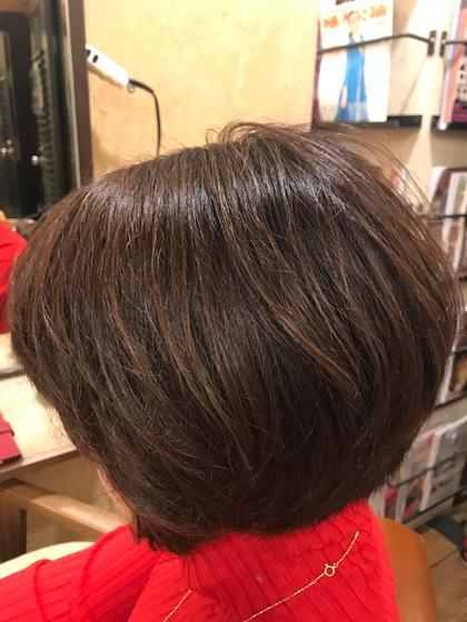 ⭕️オーガニックカラー(リタッチ白髪染め)&髪質改善TOKIO5stepトリートメントサービス⭐️ミニモ限定⭐️