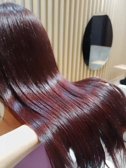 イルミナカラー アディクシーカラー 髪質改善トリートメント 酸熱トリートメント