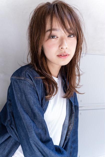 💫艶カラー💫前髪カット+イルミナorアディクシー+シルクトリートメント☆