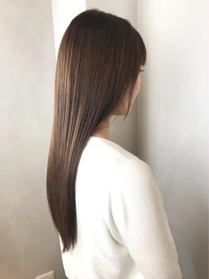 【最新矯正剤×最柔質感】 ネオリシオ縮毛矯正+トキオトリートメント+CUT¥17600