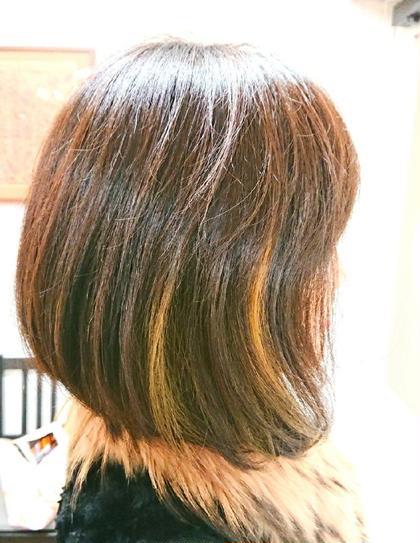 ゾーンカラー ハイライト ローライト のミックス Hair Salon Valor 所属・渡辺康行のスタイル