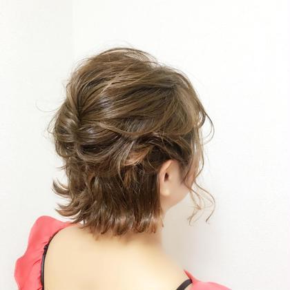 ショートスタイルでも 可愛いアレンジできます♪ Hair Resort Lino所属・Mai.のスタイル