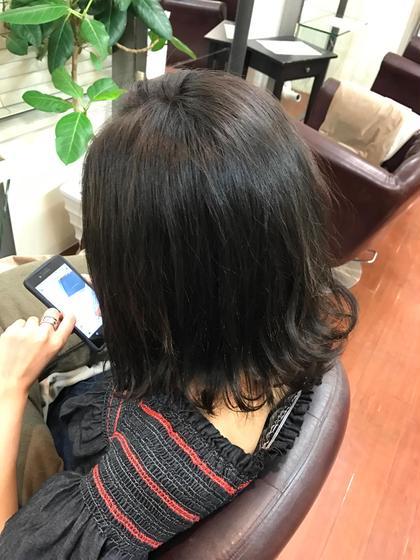 イルミナカラーで暗めに! アッシュとマットの組み合わせ^ - ^ hair&spa   an  contour所属・石原ナナのスタイル