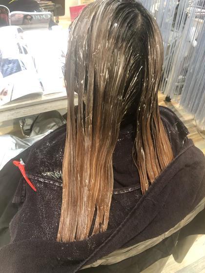 【学割】ダメージ最小限😊👀黒染め落とし。👀 就活、実習終わりの方必見!! 髪の負担を最小限の黒染め落としです。