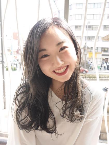 暗髪ふわロング☆ モリオフロムロンドン原宿本店所属・佐久間大貴のスタイル