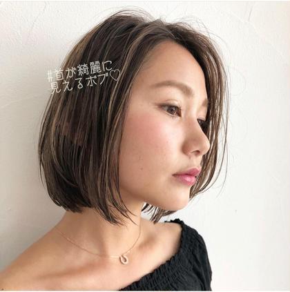 【大好評】☑️カット➕高級カラー➕ oggi otto(オッジィオット)トリートメント¥5,080✨