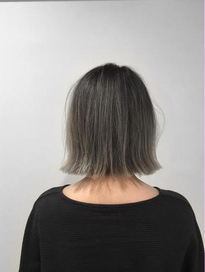 kuroyanagi.のミディアムのヘアスタイル