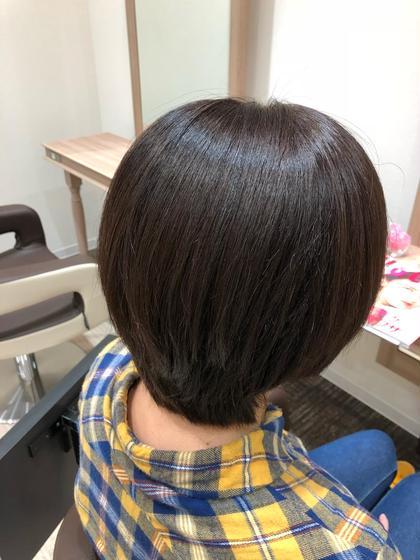 流行りのイルミナカラーで白髪染めもできます!  Ash十日市場所属・山崎あかねのスタイル