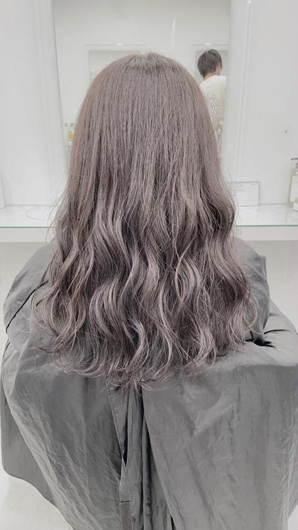 💓初ブリーチが怖い💓そんな方へ💓ブリーチしても地毛よりサラサラな髪へ💓ダブルカラー+髪質改善トリートメント💓