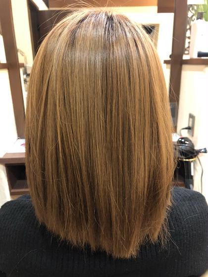 根本カラーと髪質改善トリートメント【Light】
