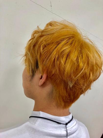 その他 カラー ショート ヘアアレンジ