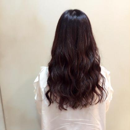 ヘアケアカラー×ロングウェーブ HIKARIS  hair所属・ハマダハルカのスタイル