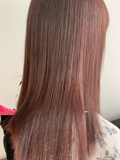 💙【6月限定】💙カット+カラー+髪質改善トリートメント❤︎glass hair treatment🌟🌟