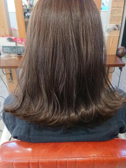 アッシュに飽きた方にはマットカラーオススメですよ✨赤みを消して艶もだしてくれますよ👏 hair&spa CHEEGO所属・倉橋渉のスタイル