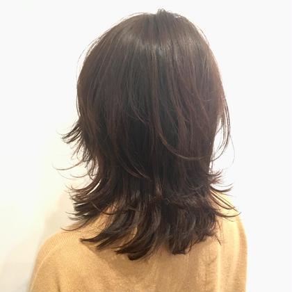 レイヤスタイルもローライトで動きを出して! kokoro hairsalon所属・野村春菜のスタイル