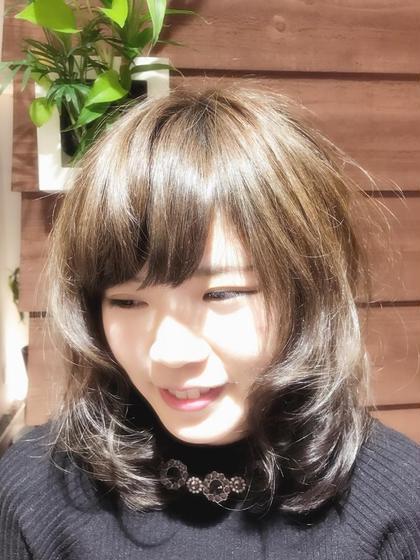 hair garden cachette所属・takebayasikeitaのスタイル