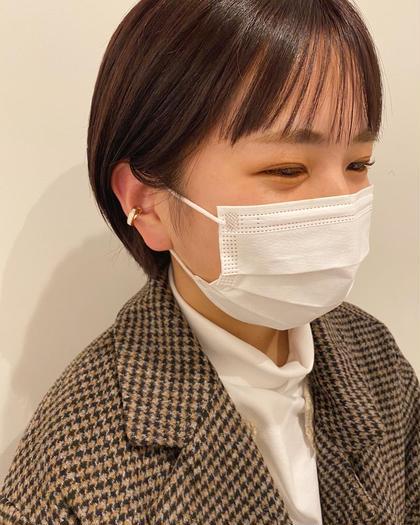 ♡平日限定♡縮毛矯正◎前髪、顔周りのみのポイントストレート¥5500