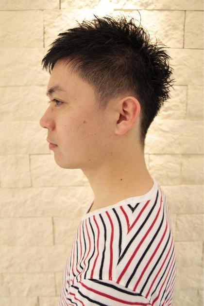 黒髪 清潔感 刈り上げ ベリーショート! ALTI    CORNATURE所属・金井真澄のスタイル