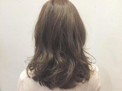 matteベースでashとcinnamonをプラス。 柔らかい自然体なヘアー。 BABEL所属・杉村尚磨のスタイル