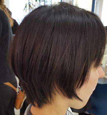 えりあしをスッキリとタイトにしたショートスタイル hairmakehidamari所属・齋藤和弘のスタイル