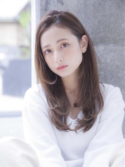 🧡人気No.1🧡カット&透明感カラー&TOKIOトリートメント