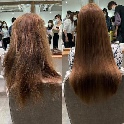 【✨1日1名様限定✨】話題の髪質改善‼️酸熱トリートメントモデル募集💆🏻♀️🤍🉐6600円