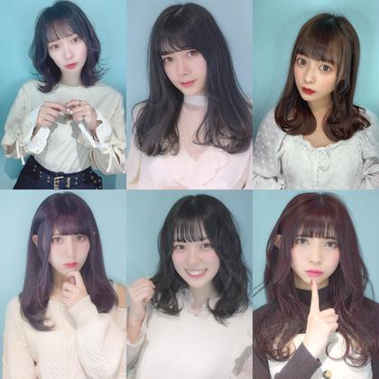アイドル前髪カット💜¥1100 カットは代表スタイリストがします。
