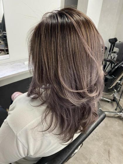 アディクシーヘアカラー+艶髪トリートメント