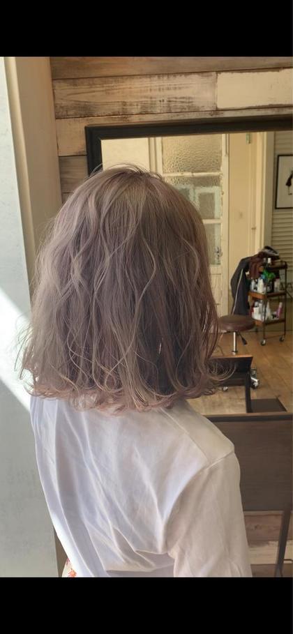 【口コミ大好評中🎉】ダメージレスカラー+髪の美容液‼️オッジィオットトリートメント+頭皮がうるうるショートスパ