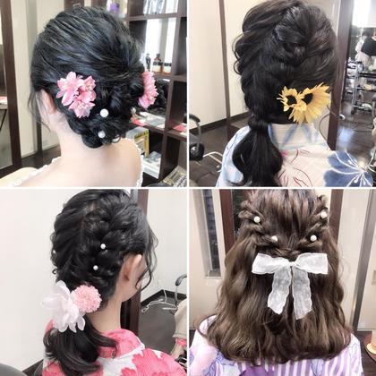 ❤️浴衣アレンジ❤️   沢田瞳のヘアアレンジ
