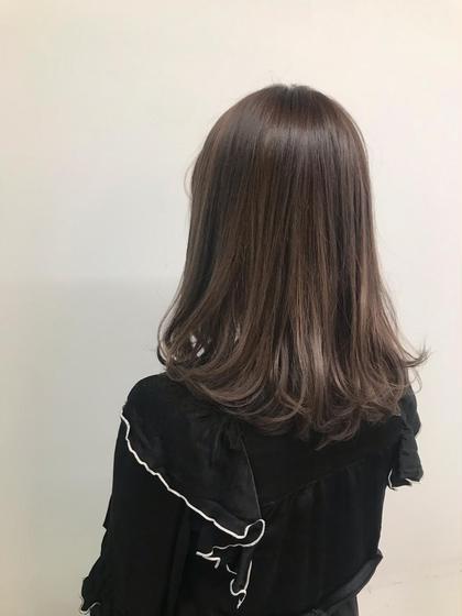 ❤️9月限定❤️ 前髪カット➕フルカラー➕トリートメント💓