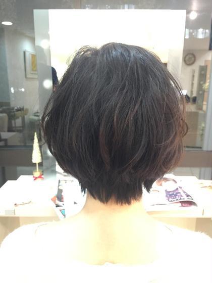 ゆるウェーブショート! Blanc hair所属・浅田大輝のスタイル