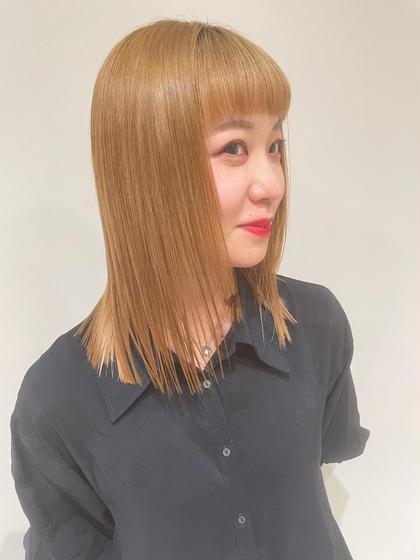 カット+チューニング🍃広がりやすい/パサつきやすい髪の毛をしっとりさせてまとまりを良くします!雨の日が超楽^ ^