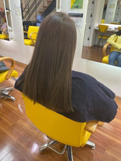 回復トリートメント➕前髪カット