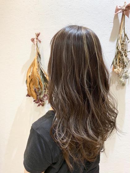 【✂️ご新規様限定✨】ケアブリーチ使用バレイヤージュ🔹+全体美肌カラー《イルミナカラーに変更は+¥1000》