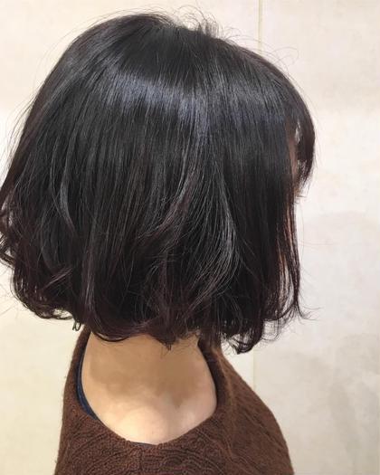 『就活中の方におススメ!』黒髪戻しカラー&ブロー