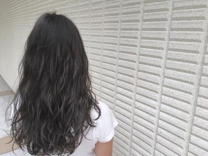 【 イルミナカラー × シアーグレージュ 】  自然光で見るとやっぱりきれいです ♪  高江秀聡のヘアスタイル・ヘアカタログ