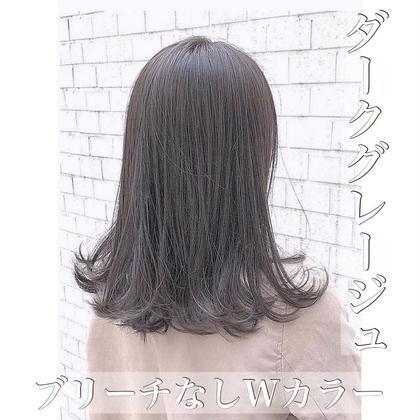 【10月まで限定💗クーポン㊗️】✨透け感抜群カラー✨+髪質改善トリートメント❤️  「綺麗にしかなりません」