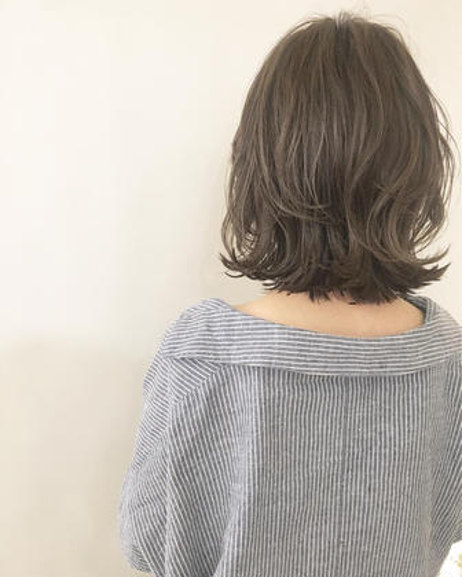 ❤️ミニモ限定特別❤️似合わせカット&シルクトリートメントカラー❤️【カット+カラー】