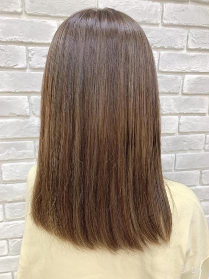 【🌈全員クーポン】ファッションカラーorグレイカラー(白髪染め)+前髪カット