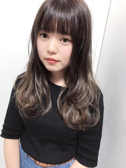 似合わせカット+縮毛矯正+弱酸性デジタルパーマ ¥16500