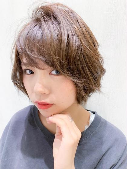 『似合わせカット』と『朝ラク☆前髪パーマ』☆