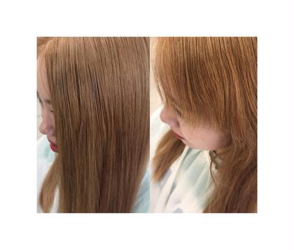 その他 カラー セミロング ヘアアレンジ マツエク・マツパ シールエクステ  8枚 前髪