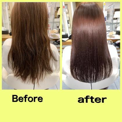 最先端にして最高峰🎉🌅髪質改善カラー✖︎髪質改善縮毛矯正✖️超音波トリートメント