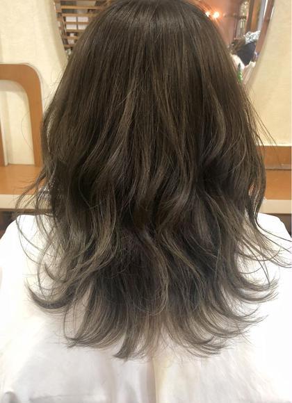 小顔カット & 美肌カラー & 髪質改善トリートメント