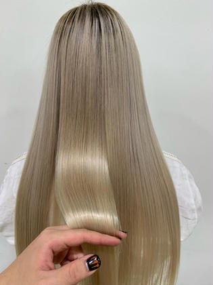 💘超音波アイロン+グラスヘアトリートメント《ブリーチのし過ぎの方から癖毛の方まで》1度でしっかり効果実感できます!✨