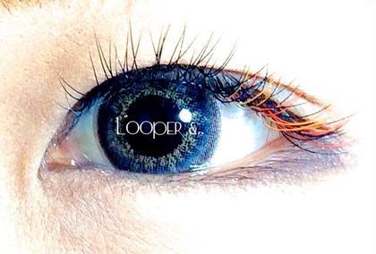 目尻にカラーを2色MIXしてみました! 目尻が長いデザインです! Looper &..所属・looper&..のフォト