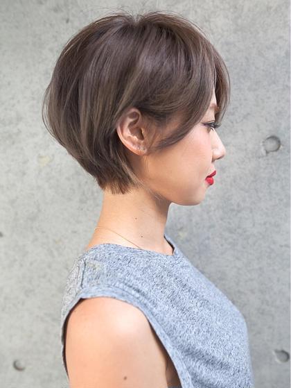 犬塚優介のショートのヘアスタイル