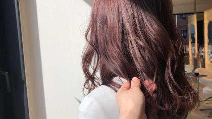 イルミナカラー新色Cherry blossom🍒でピンクヘア♡